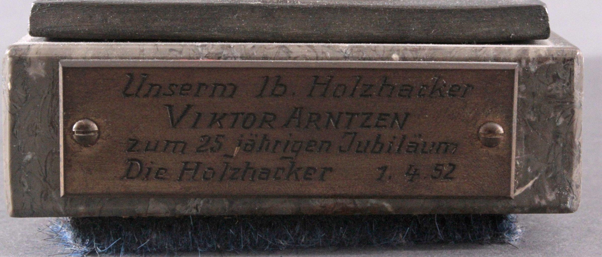 Hendrik Scholter (XX). Bronzeskulptur-5