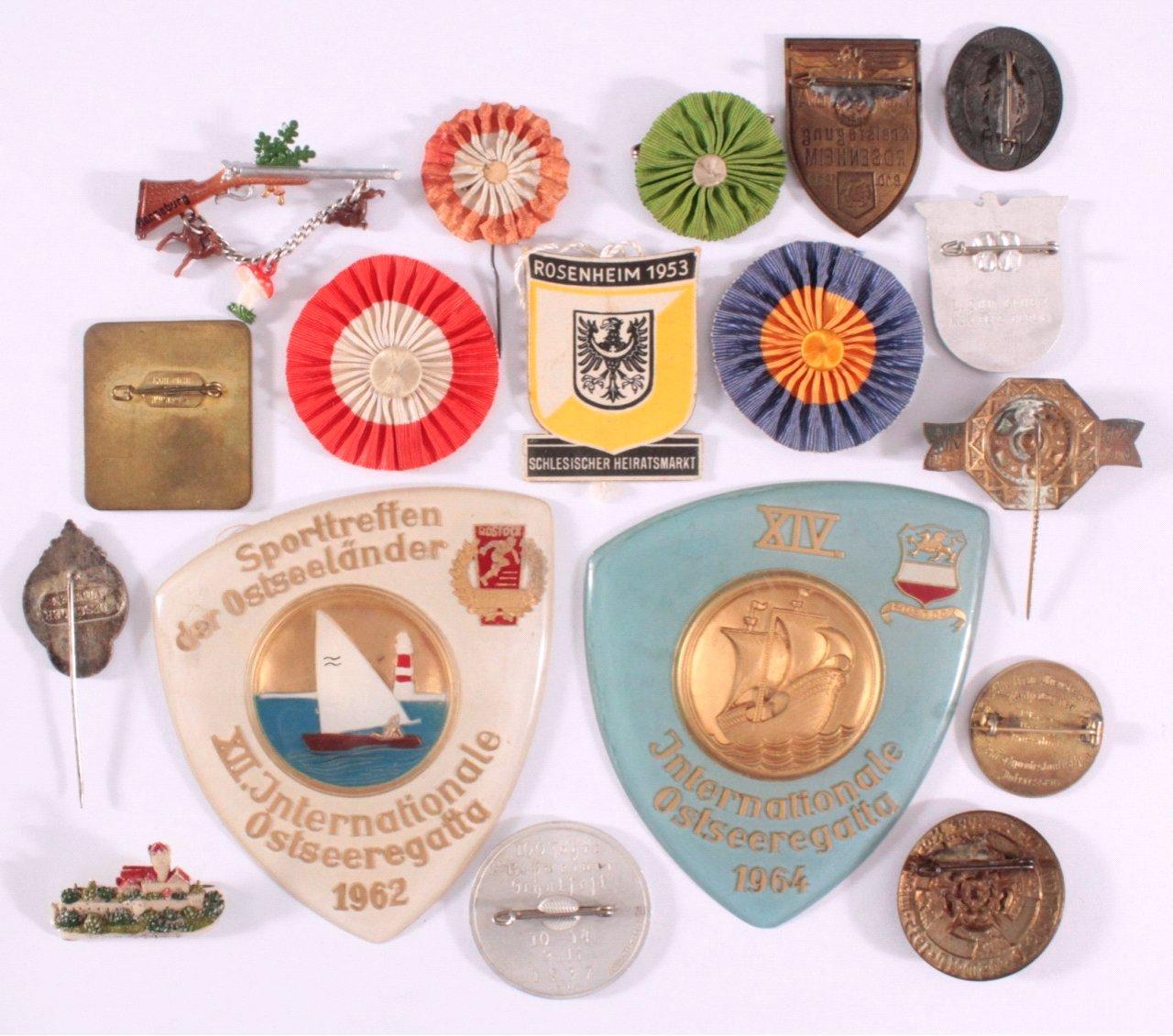 18 Veranstaltungsabzeichen Rohrbach Rudolfstadt