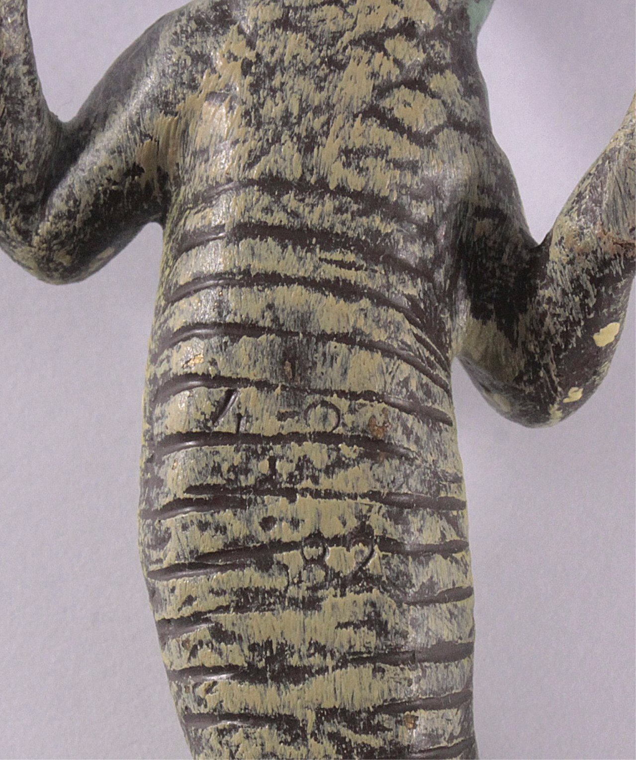 Wiener Bronze um 1900, Echse-4