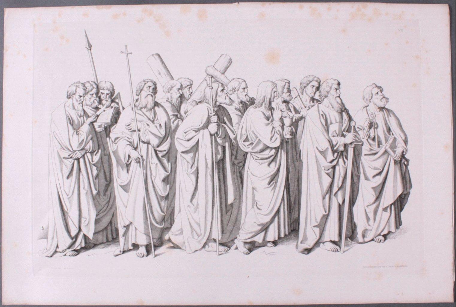 Der Triumph Christi von Joseph Führich, Ratisbon 1856-3