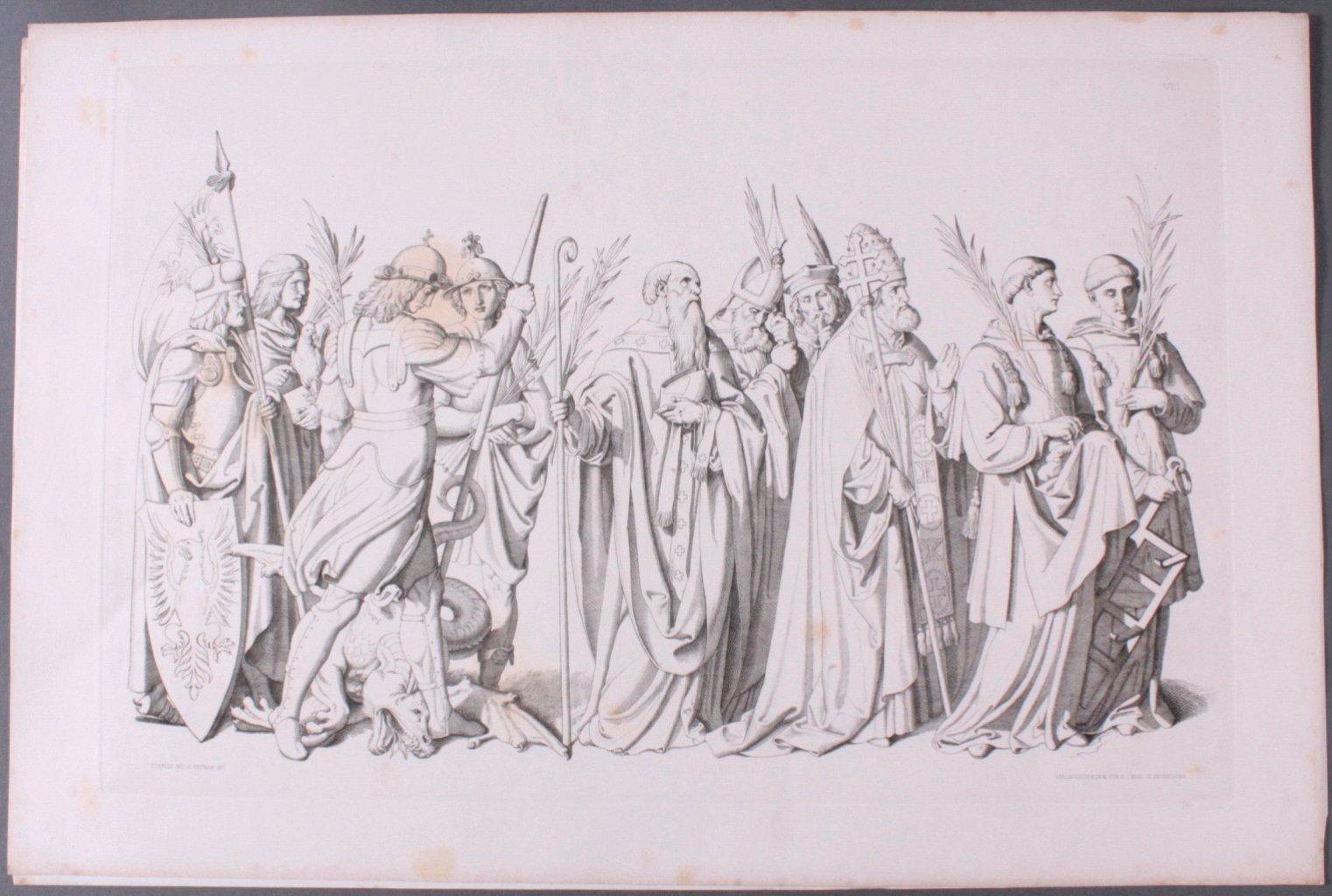 Der Triumph Christi von Joseph Führich, Ratisbon 1856-4