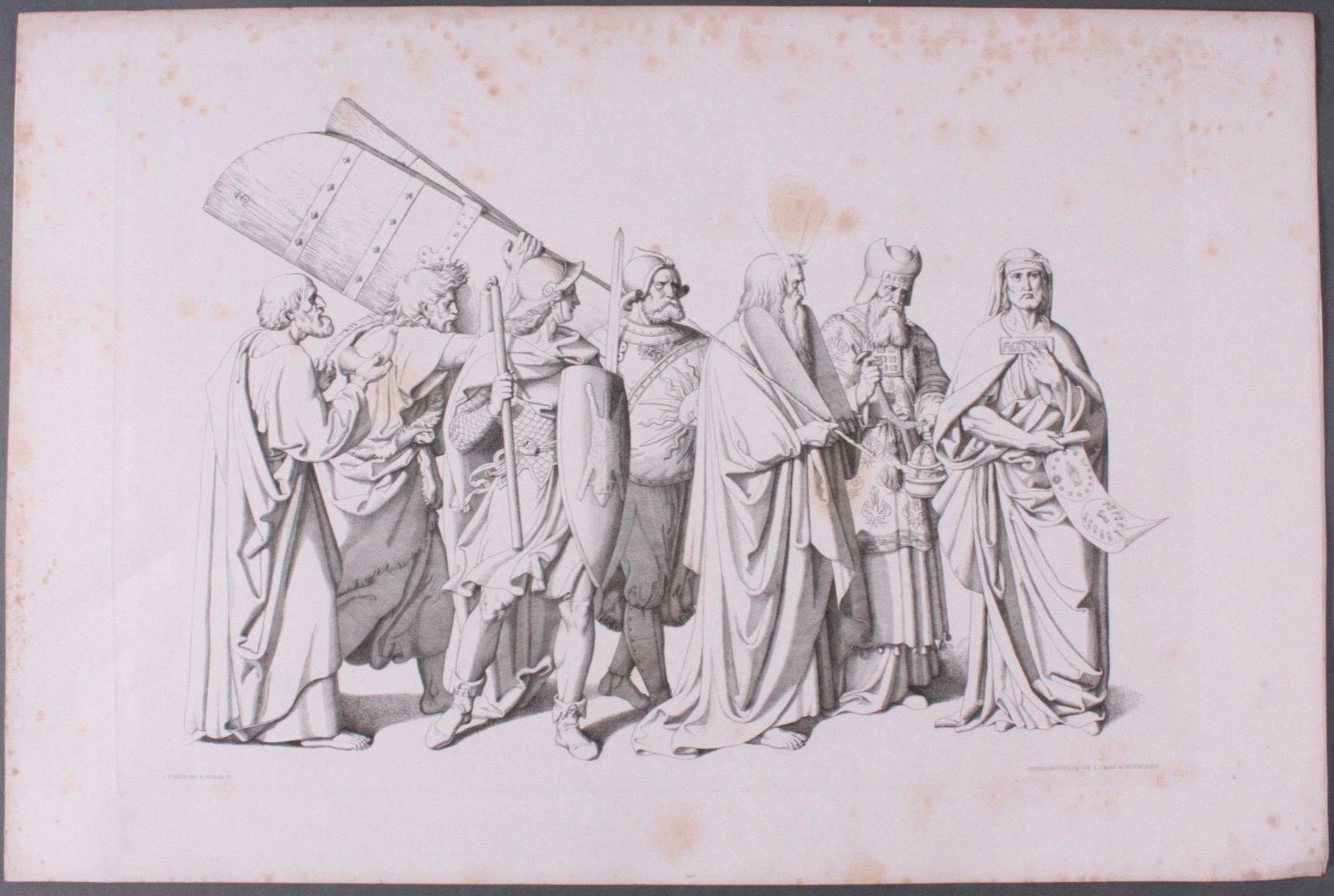 Der Triumph Christi von Joseph Führich, Ratisbon 1856-5