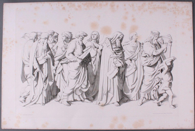 Der Triumph Christi von Joseph Führich, Ratisbon 1856-6