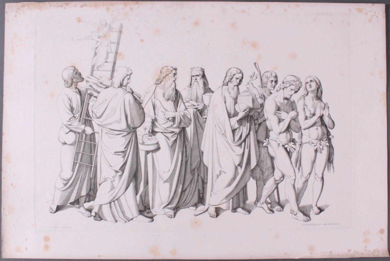 Der Triumph Christi von Joseph Führich, Ratisbon 1856-7