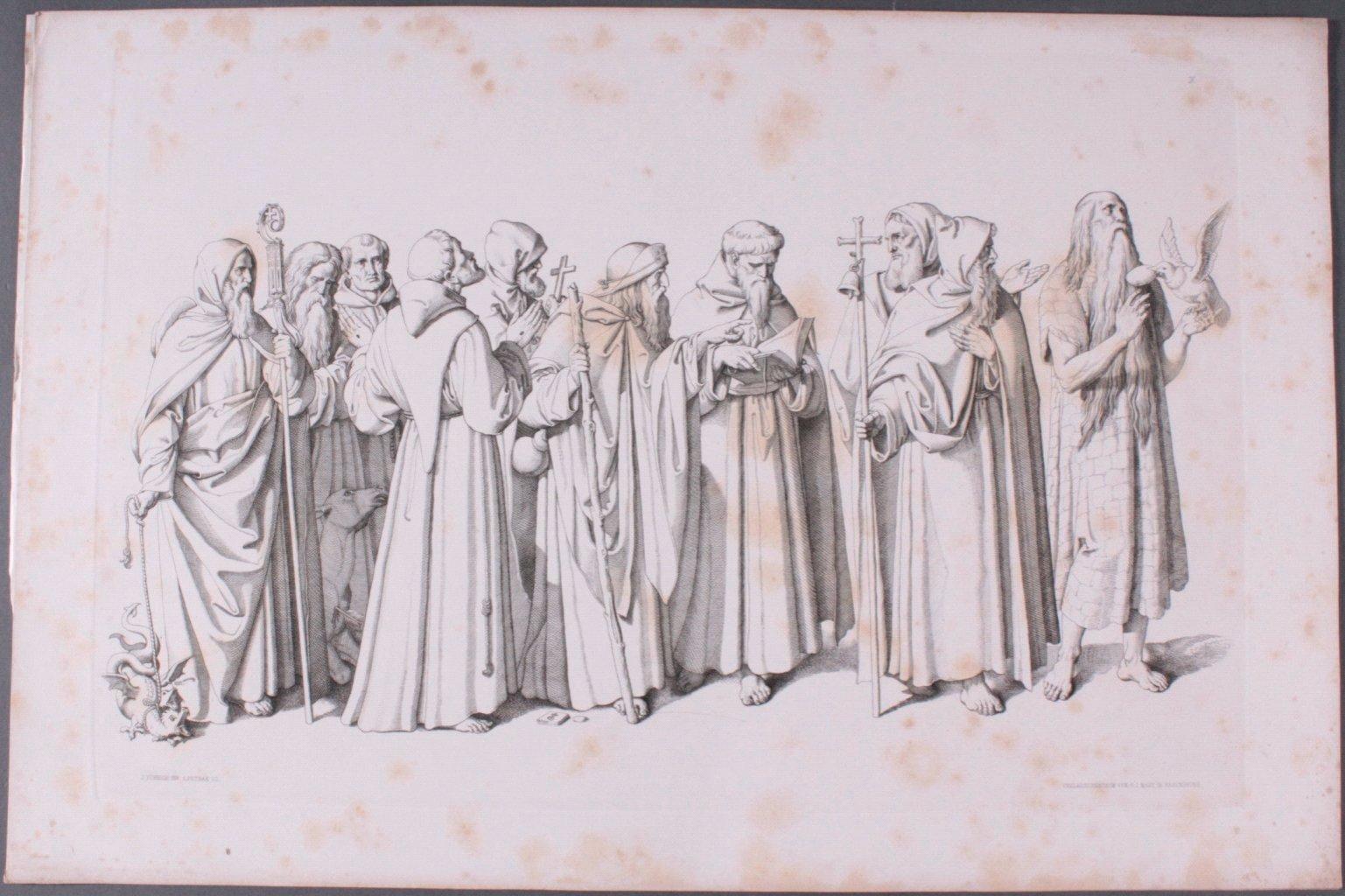 Der Triumph Christi von Joseph Führich, Ratisbon 1856-8