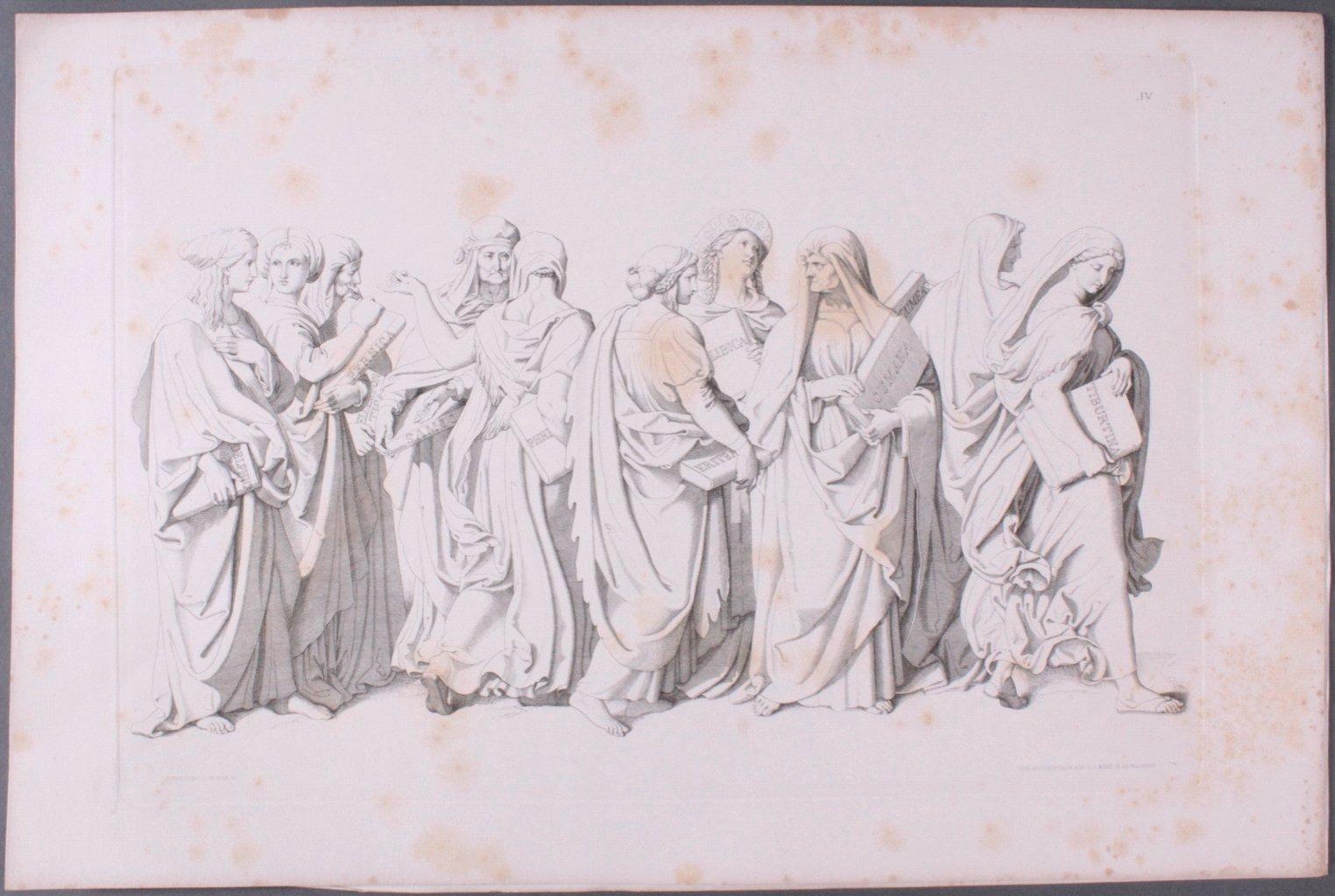 Der Triumph Christi von Joseph Führich, Ratisbon 1856-9