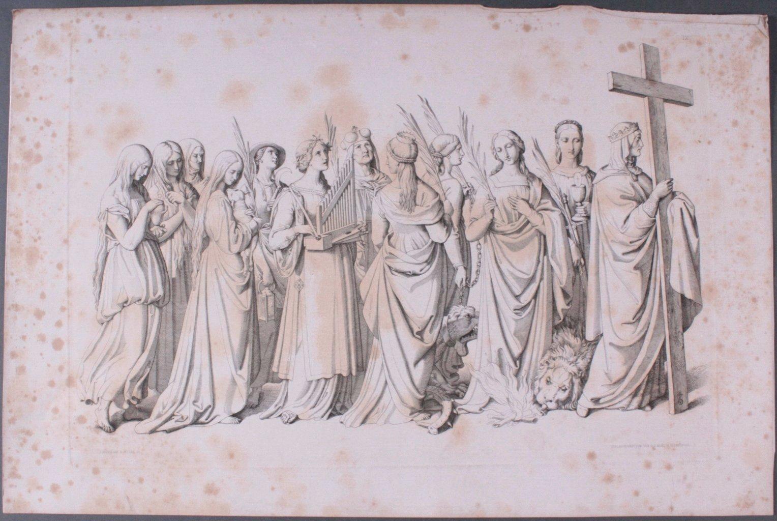 Der Triumph Christi von Joseph Führich, Ratisbon 1856-10