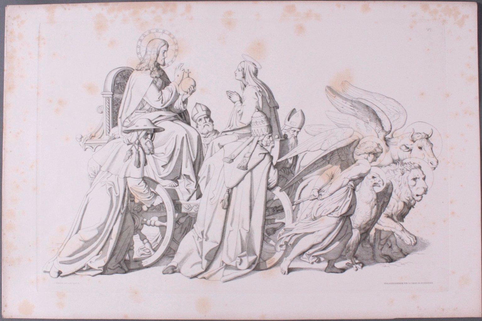 Der Triumph Christi von Joseph Führich, Ratisbon 1856-11