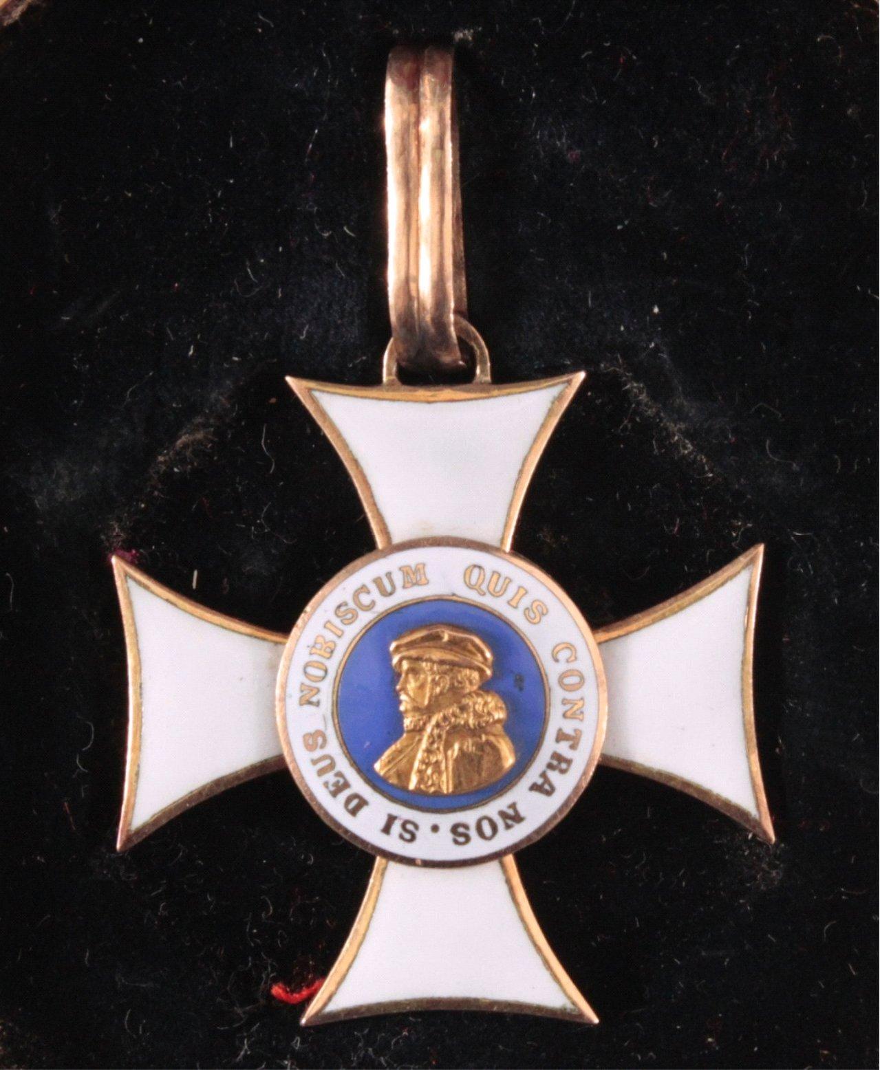 Orden Philipps des Großmütigen 1. Klasse