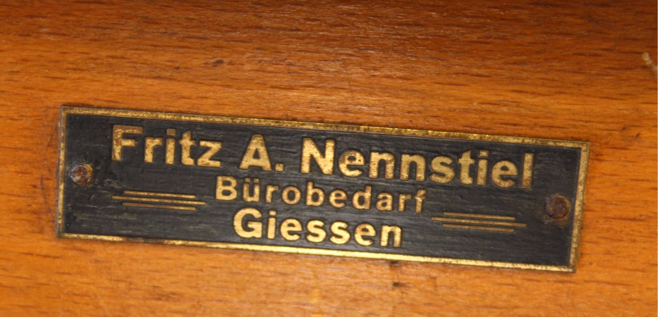 Kleiner Schreibtisch aus den 50er/60er Jahren-2