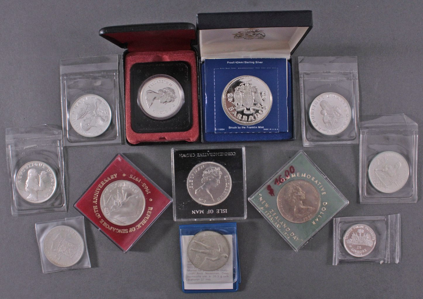 Konvolut Silbermünzen