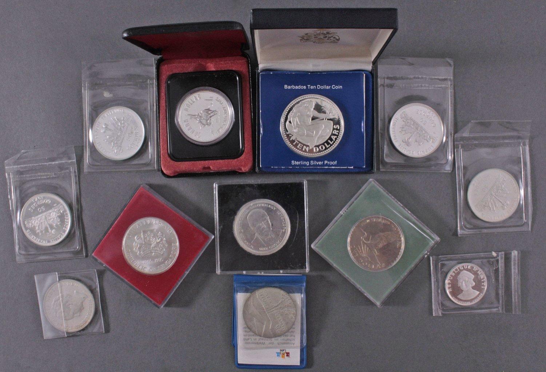 Konvolut Silbermünzen-1