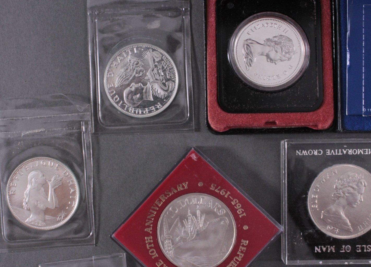 Konvolut Silbermünzen-2
