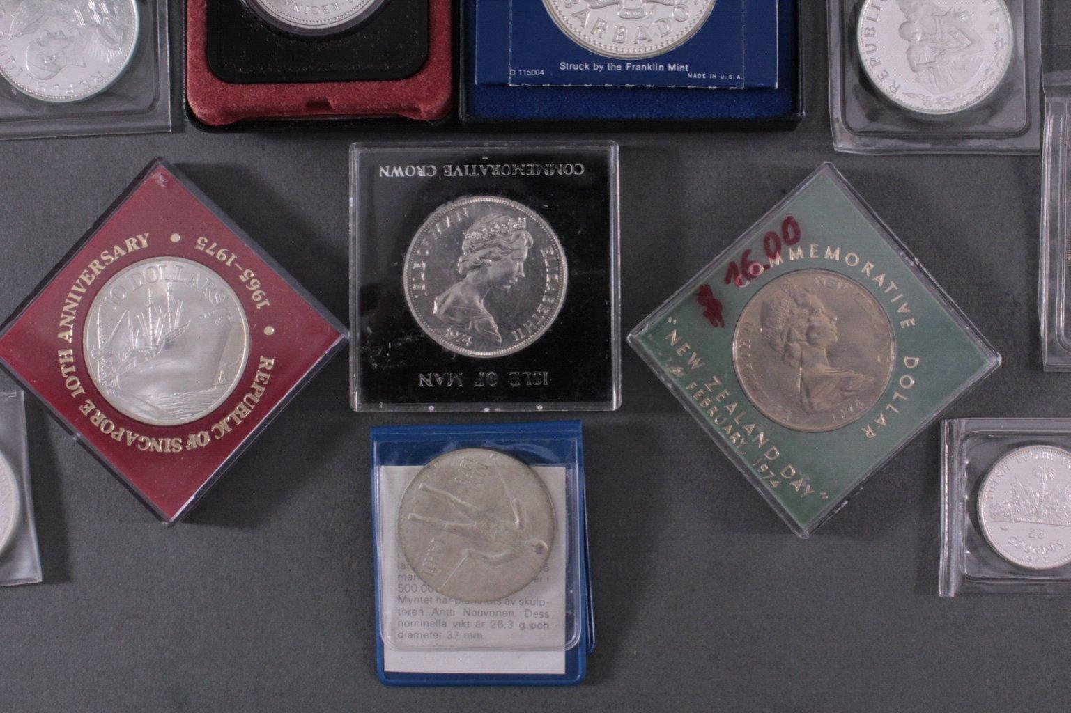 Konvolut Silbermünzen-3