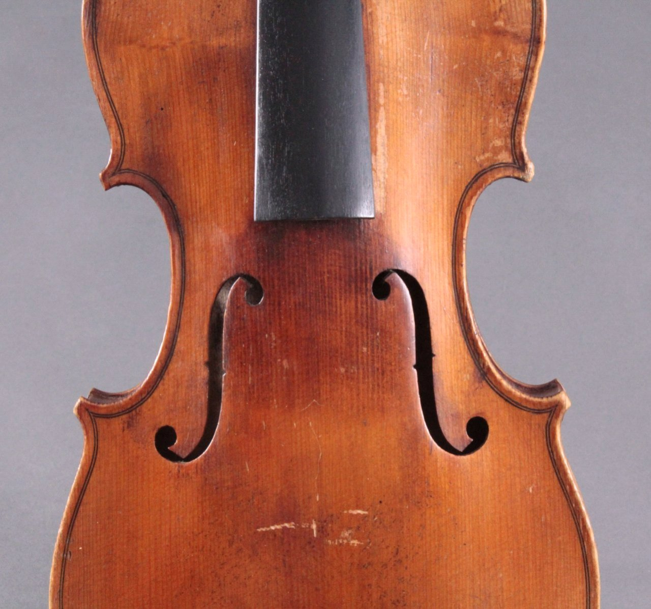 Geige / Violine mit Bogen und Geigenkasten um 1900-4