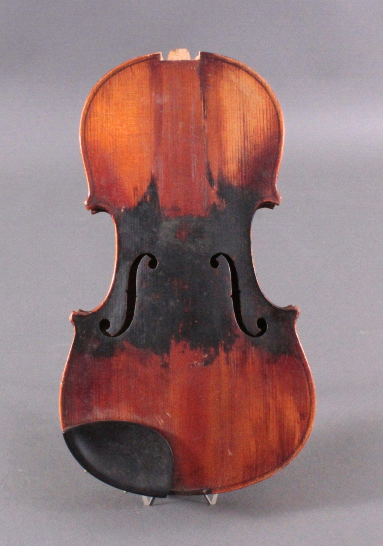 Geige / Violine mit Geigenkasten um 1900-2