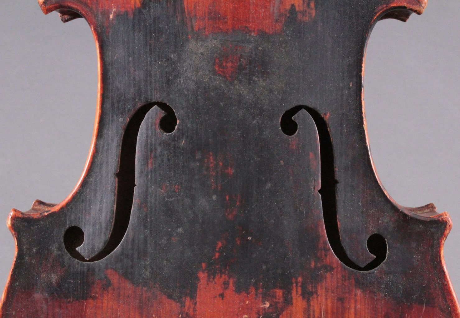 Geige / Violine mit Geigenkasten um 1900-3