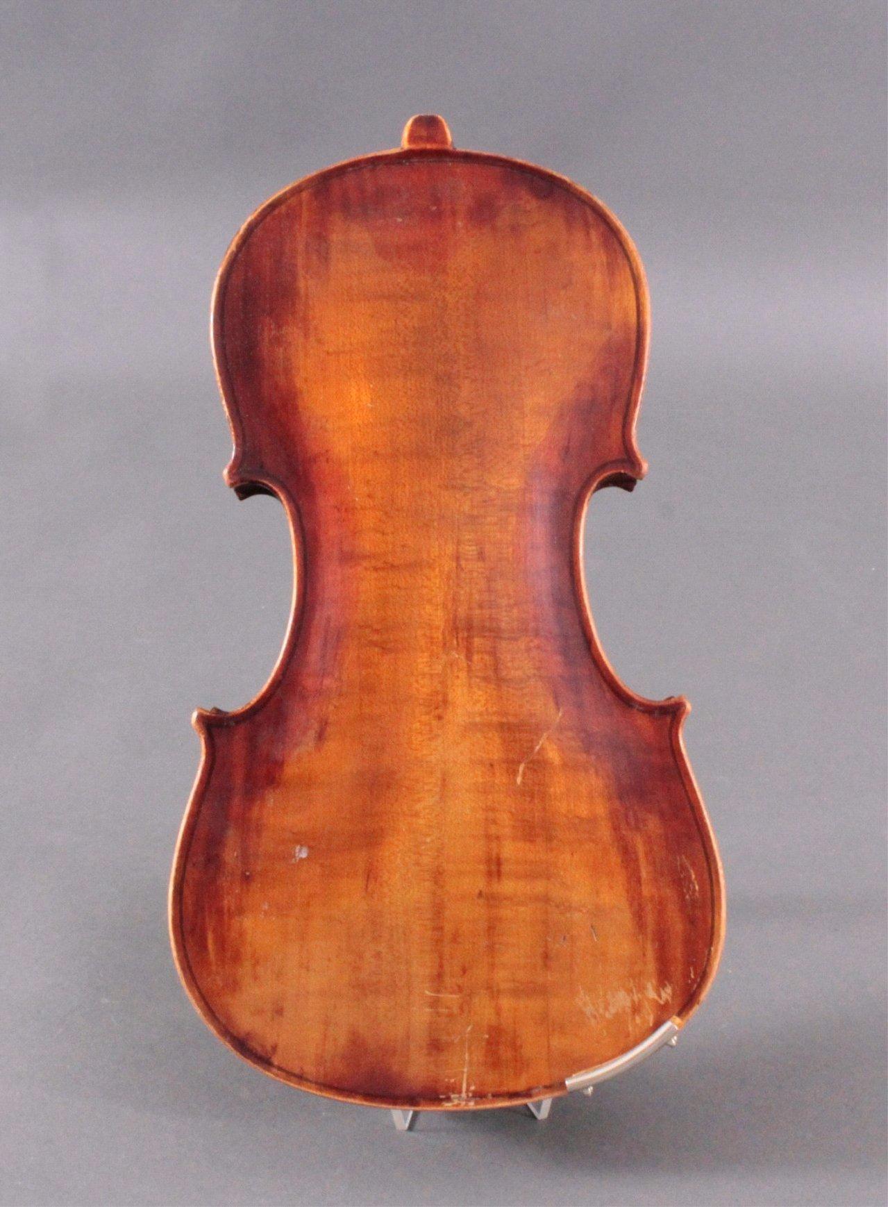 Geige / Violine mit Geigenkasten um 1900-4