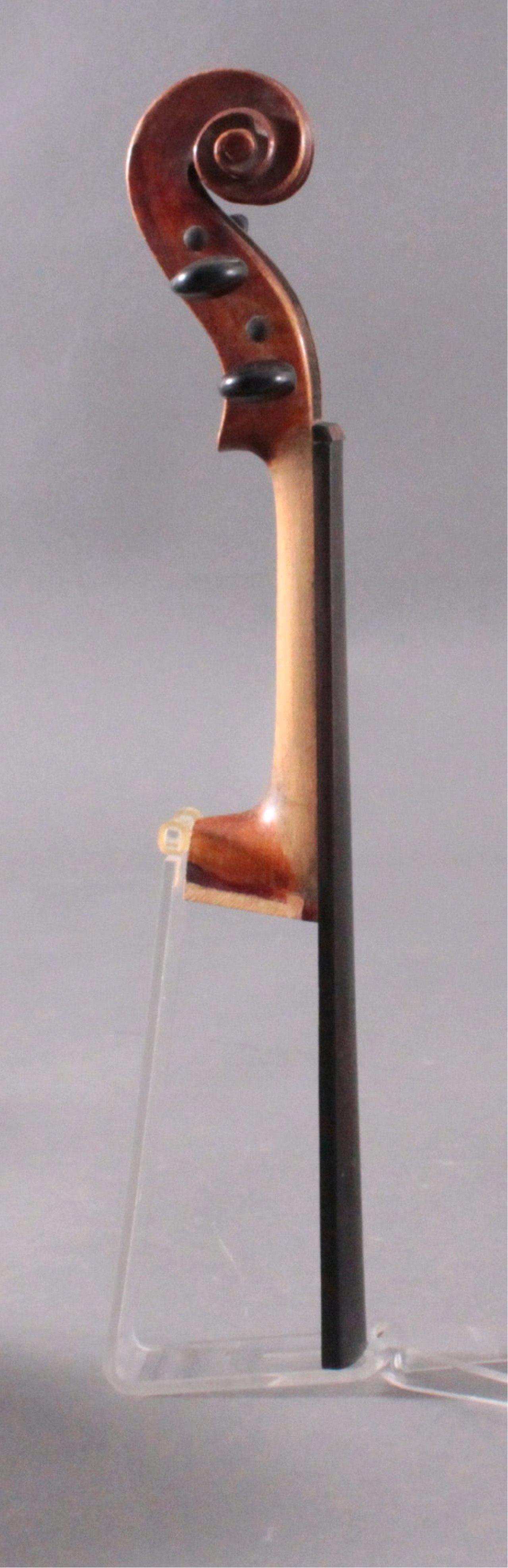 Geige / Violine mit Geigenkasten um 1900-7