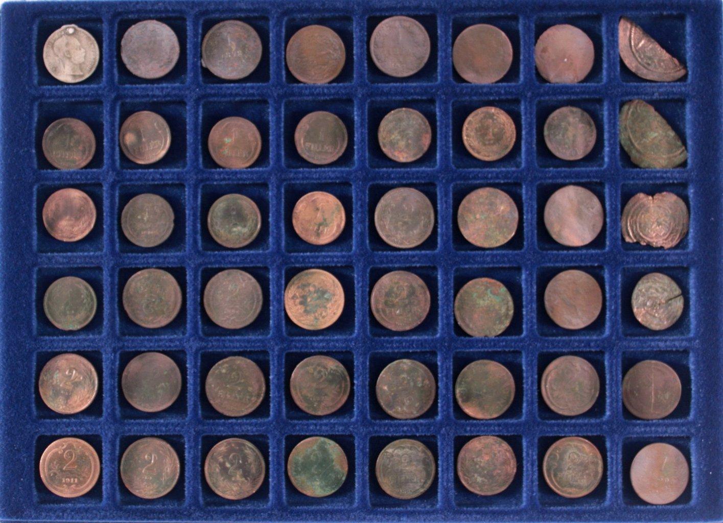48 Münzen österreich Ungarn Badisches Auktionshaus