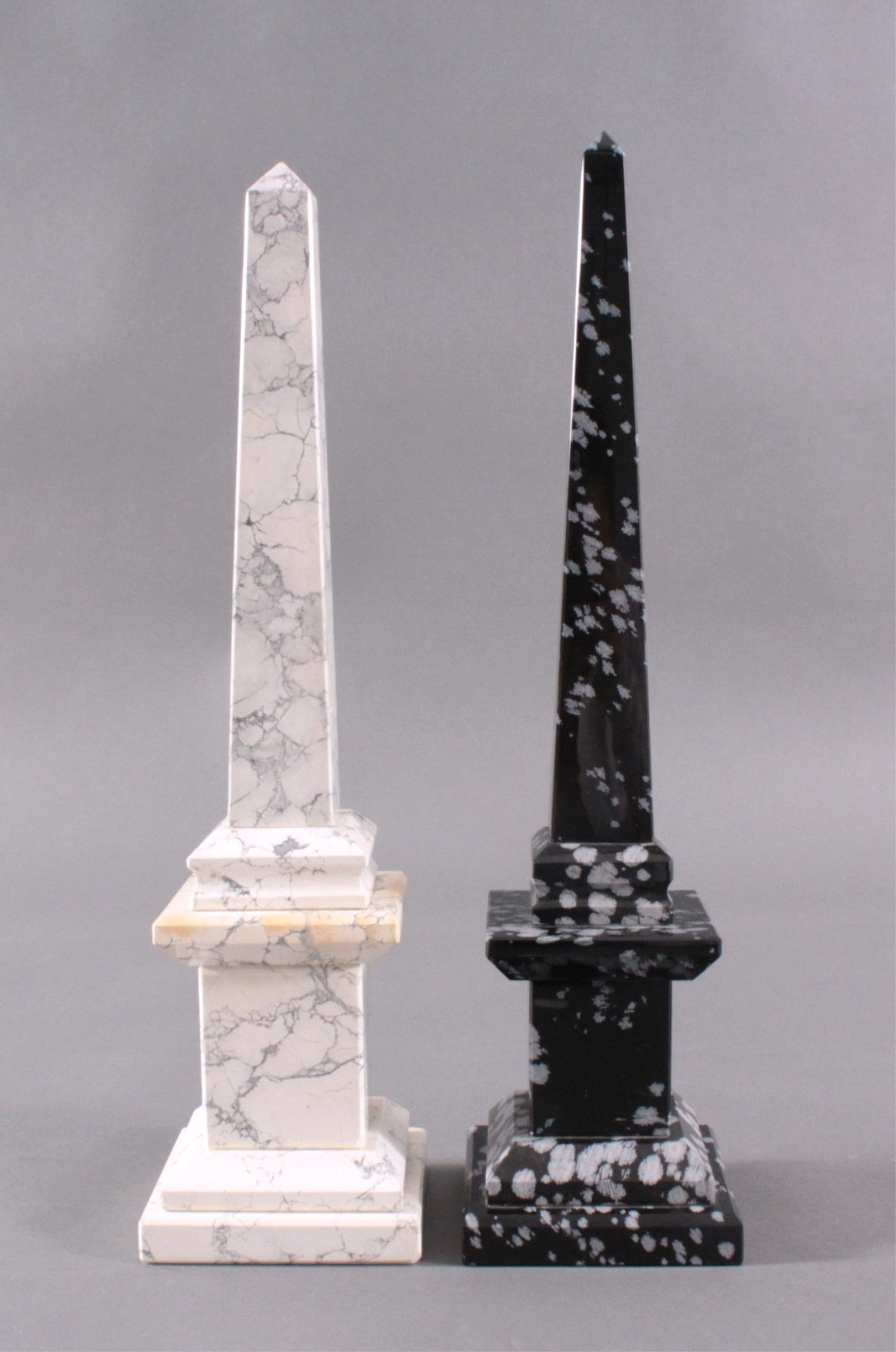 2 Edelstein-Obelisken