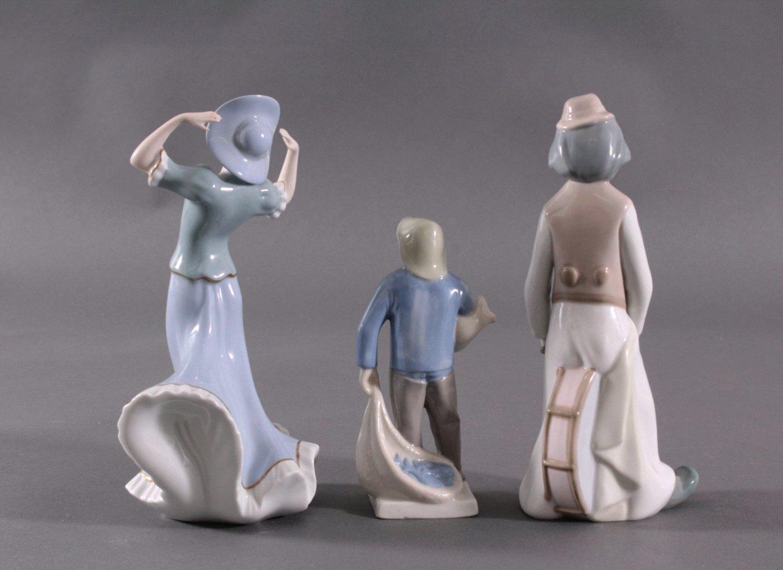 Drei Porzellanfiguren