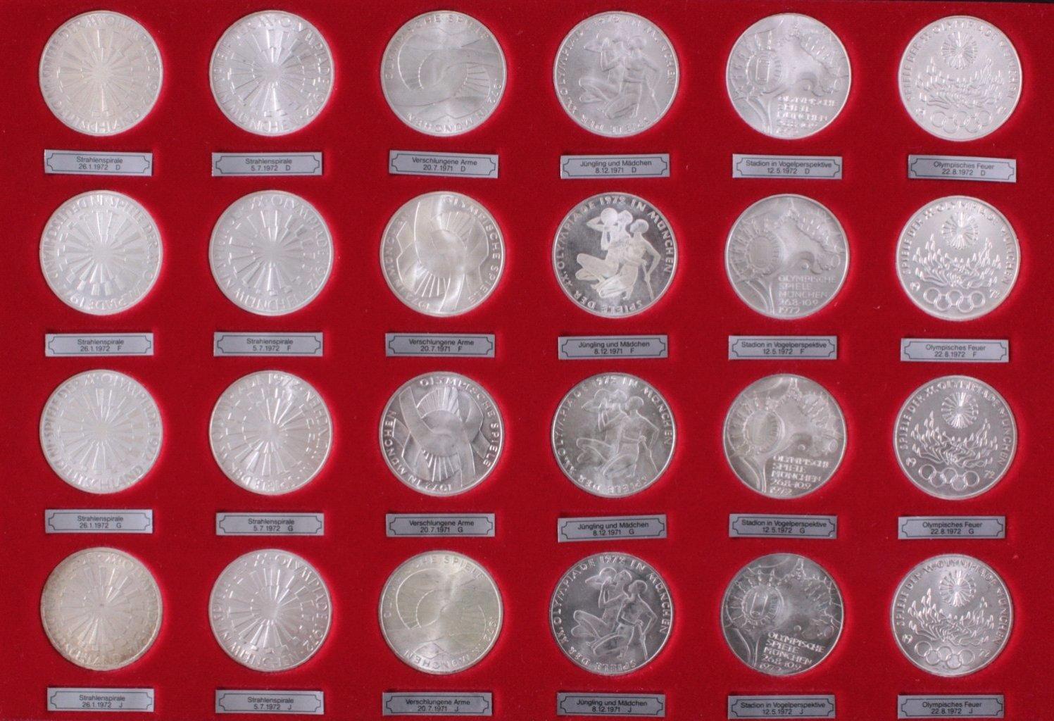72 10 Dm Münzen Badisches Auktionshaus
