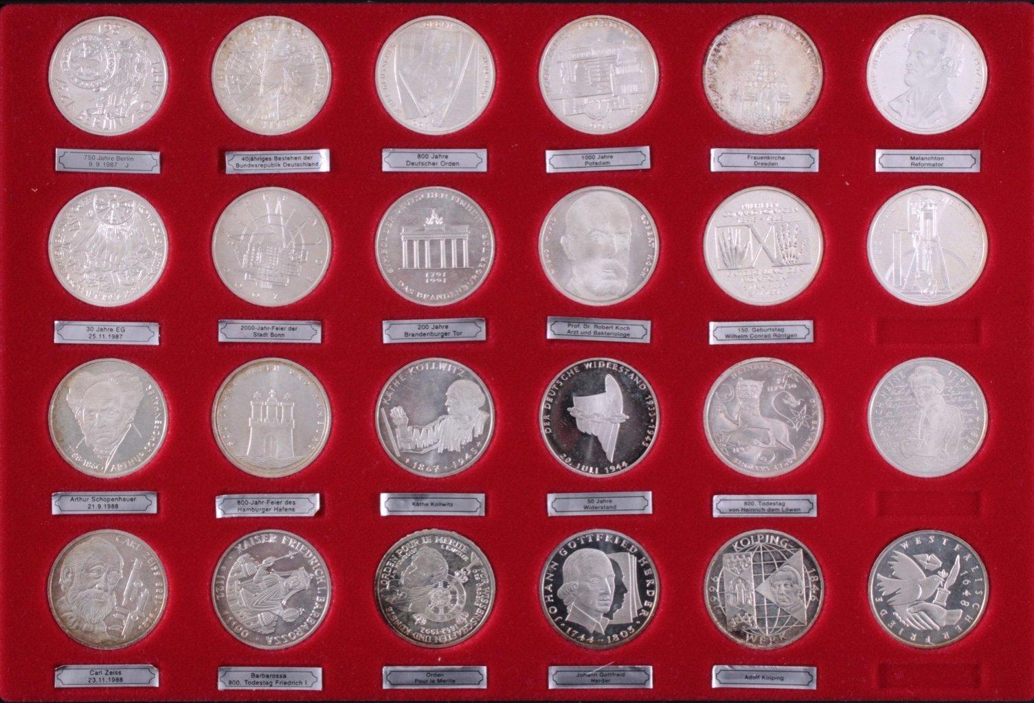 65 10-DM Münzen