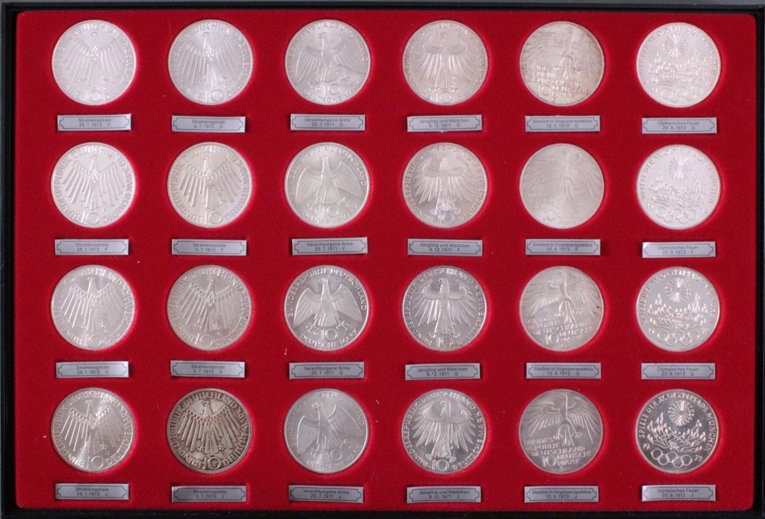 65 10-DM Münzen-6