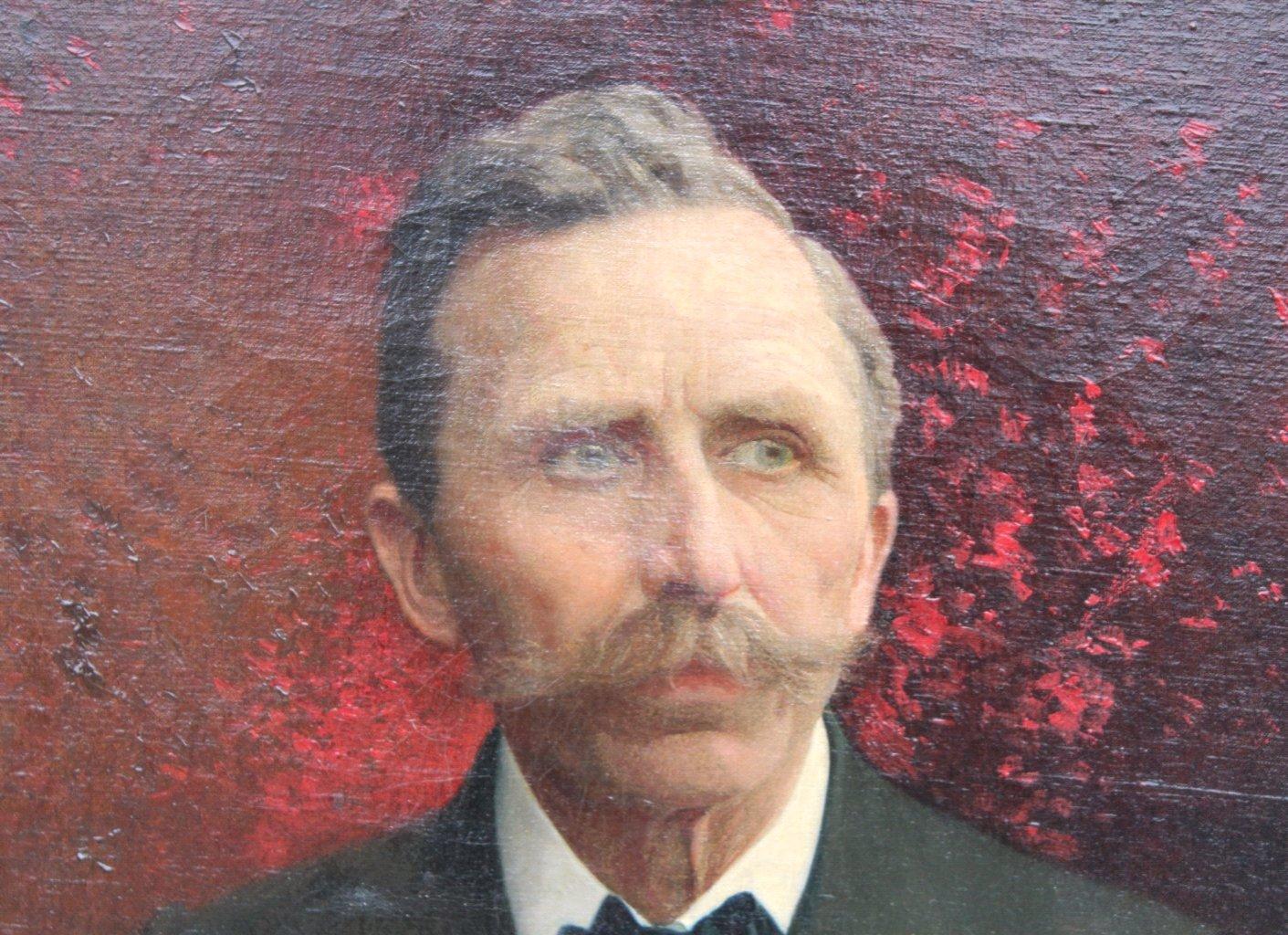 Joseph Himmel 1869-1941, Damen und Herrenportrait von 1920-3