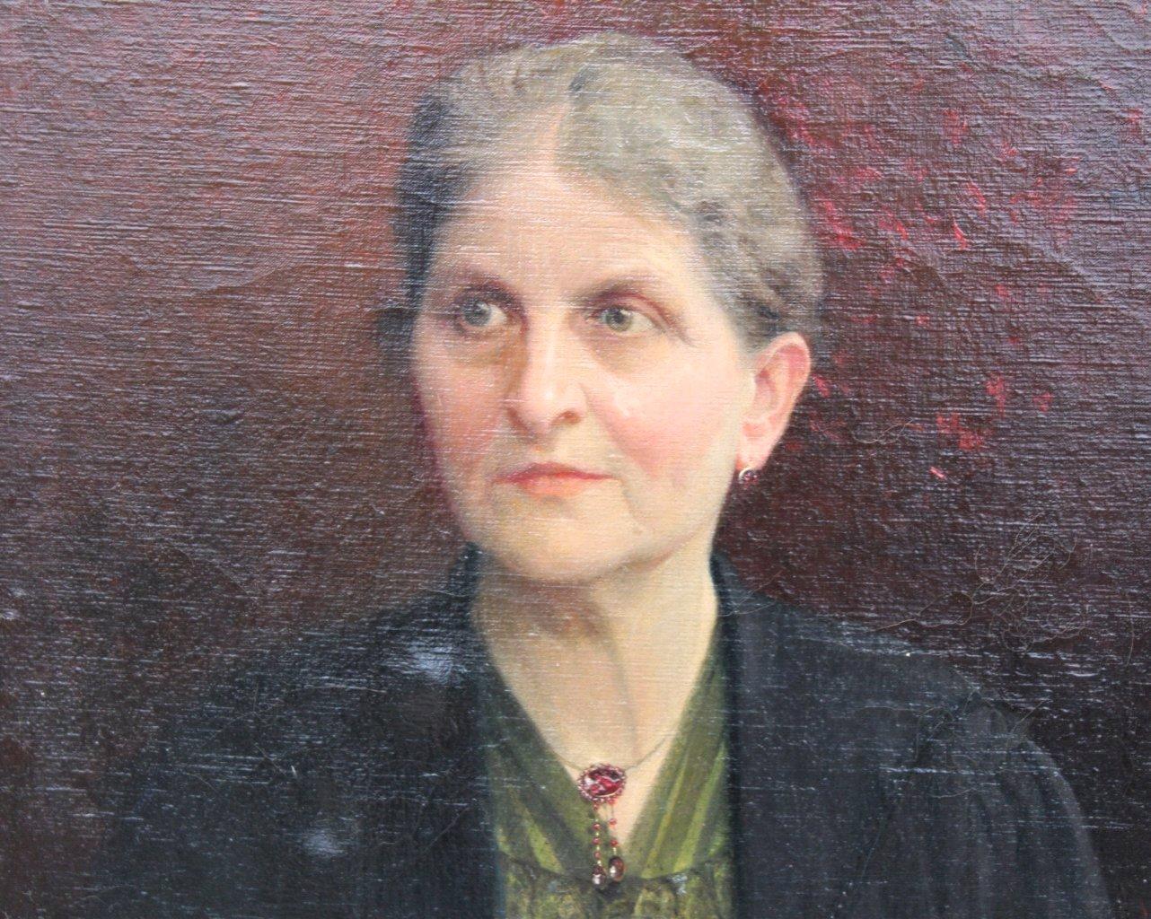 Joseph Himmel 1869-1941, Damen und Herrenportrait von 1920-4