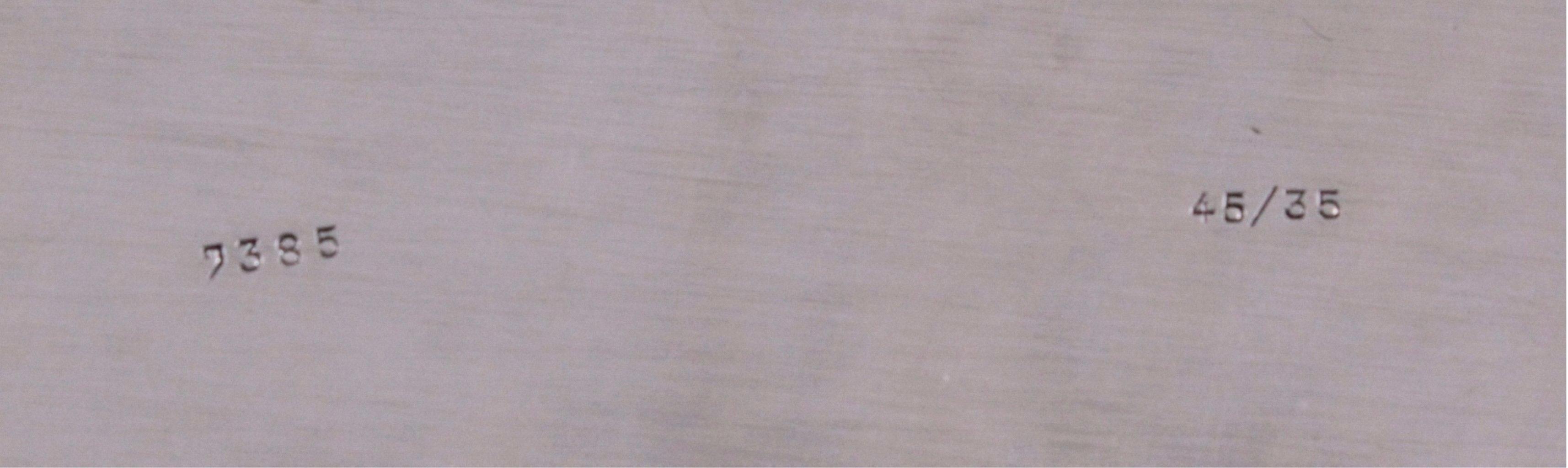 Großes Silbertablett, 830er Silber deutsche Punze-2