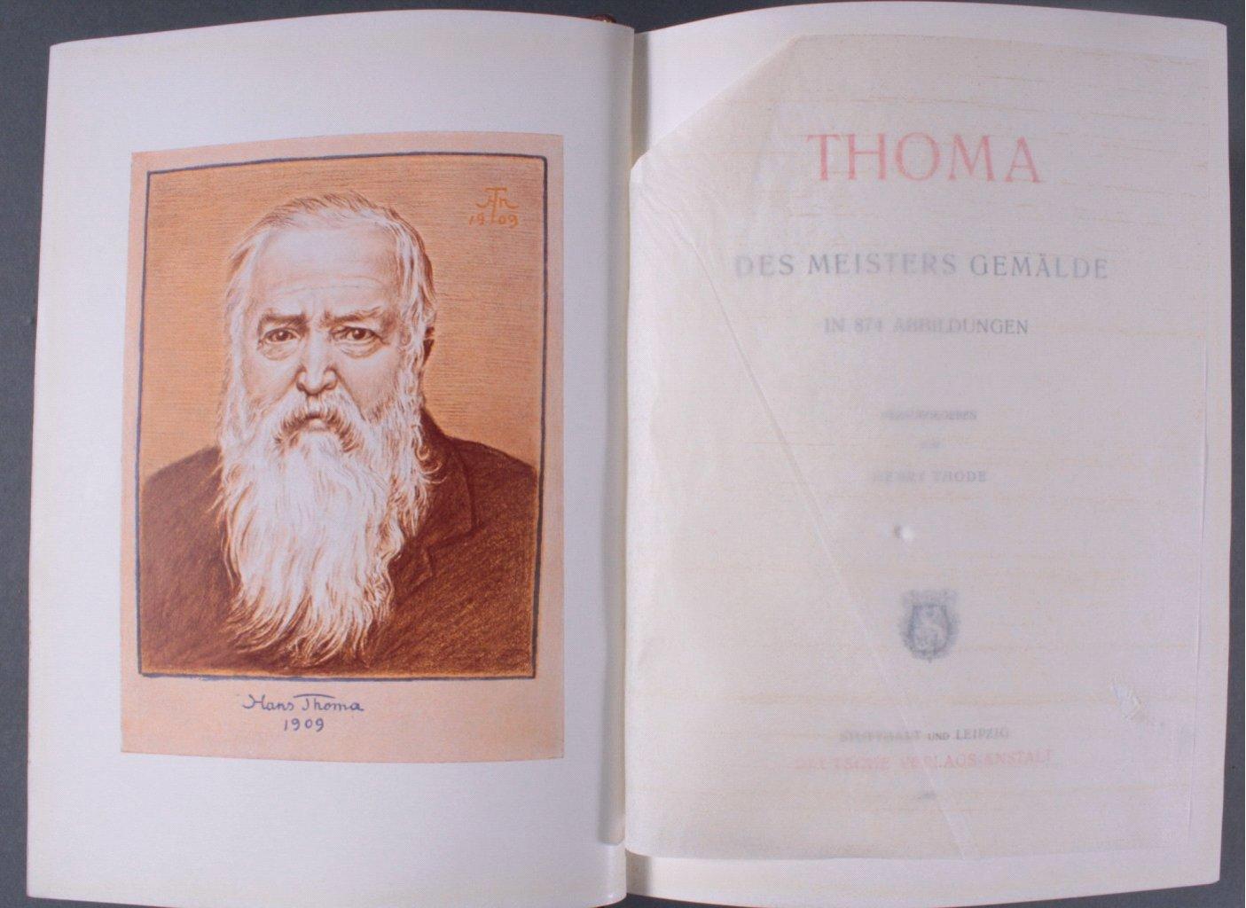 Thoma, des Meisters Gemälde in 874 Abbildungen