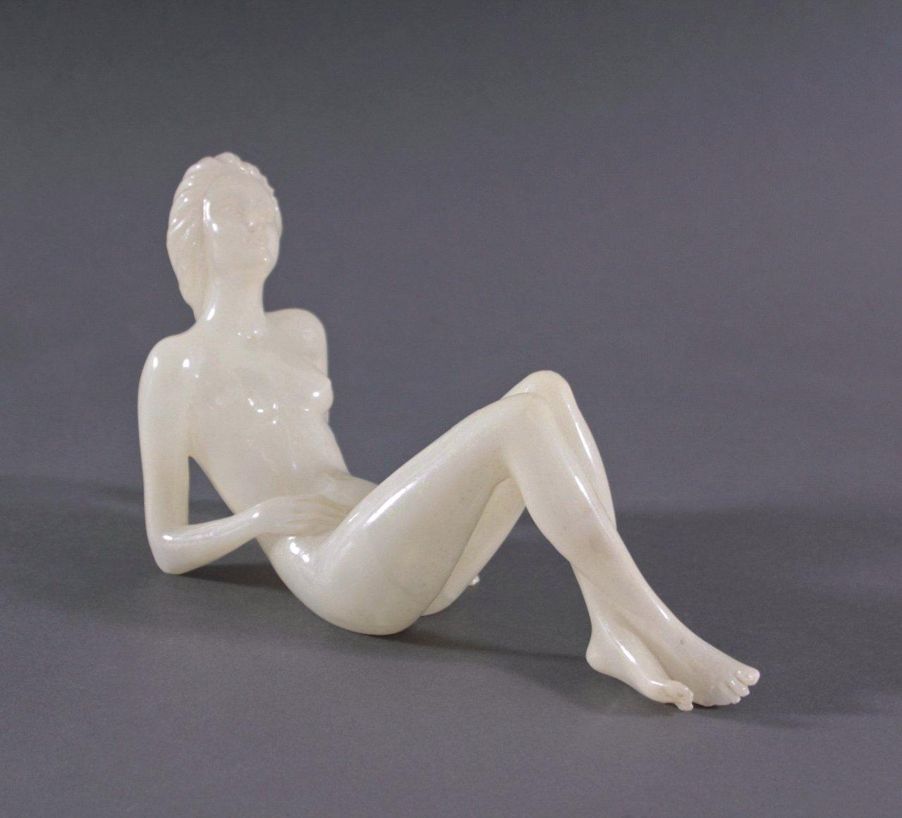 Prof. G. Bessi Alabaster Skulptur, Italien