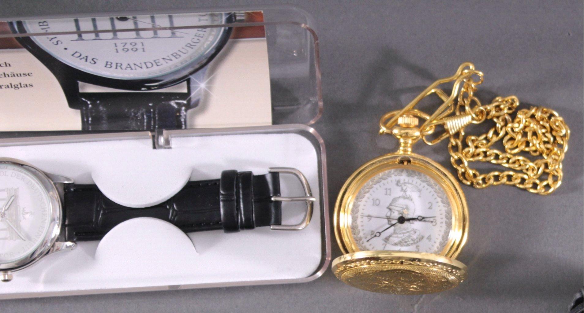 Uhren-Konvolut. 25 Stück, Taschen und Armbanduhren-2