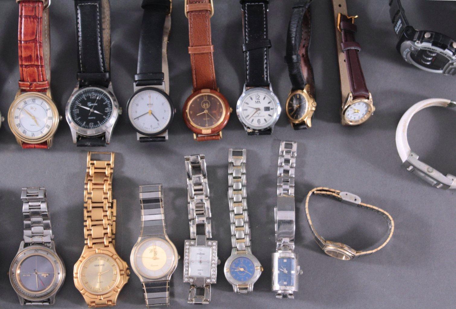 Uhren-Konvolut. 25 Stück, Taschen und Armbanduhren-3