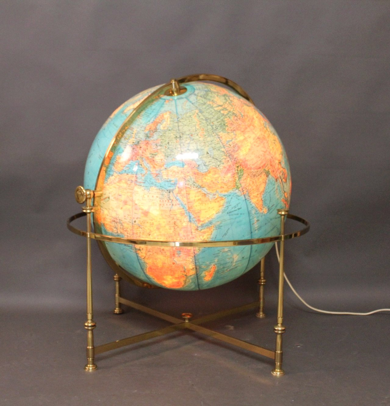 Vintage Globus aus Acryl von JRO, 1976-2