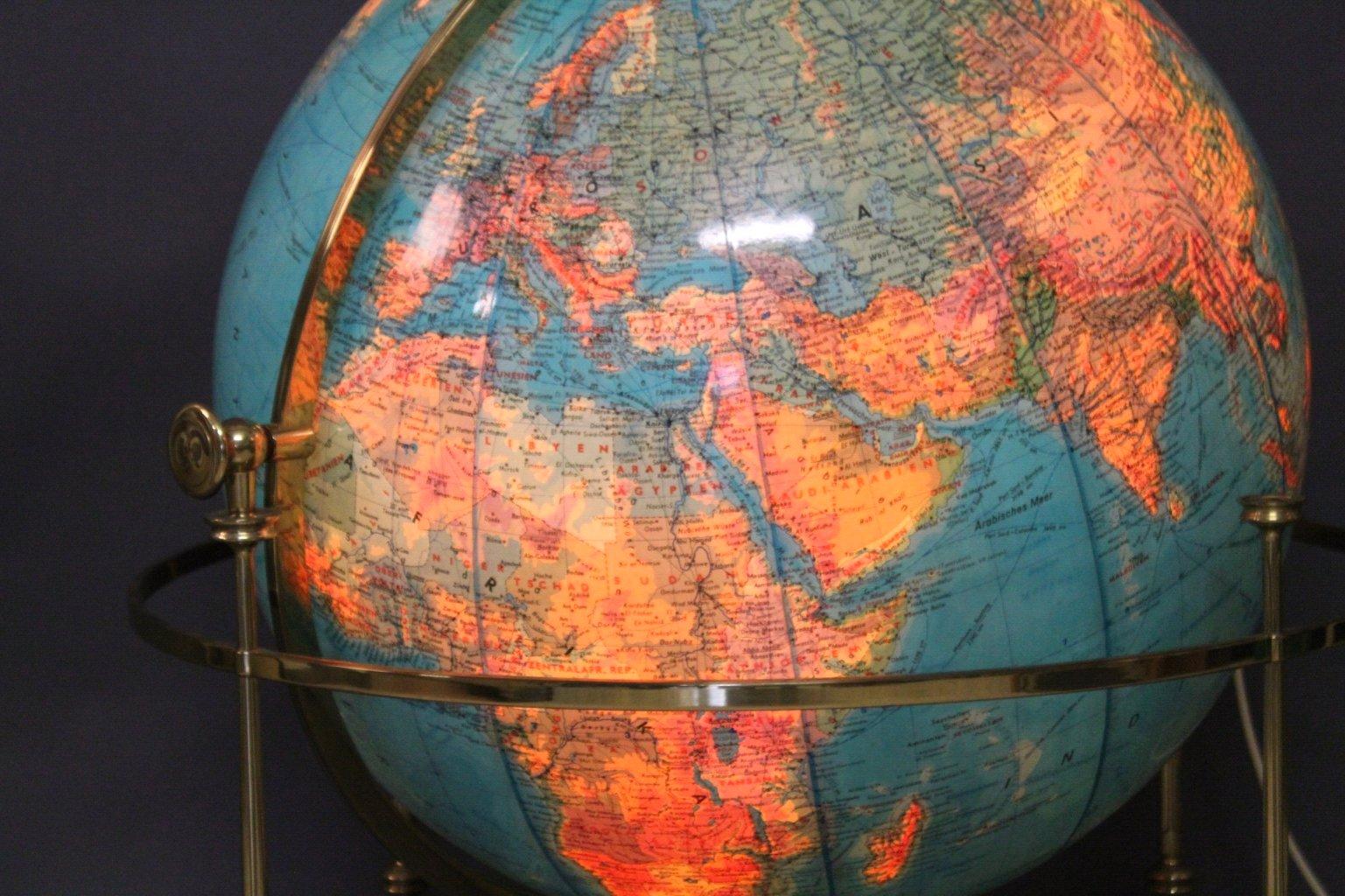 Vintage Globus aus Acryl von JRO, 1976-3