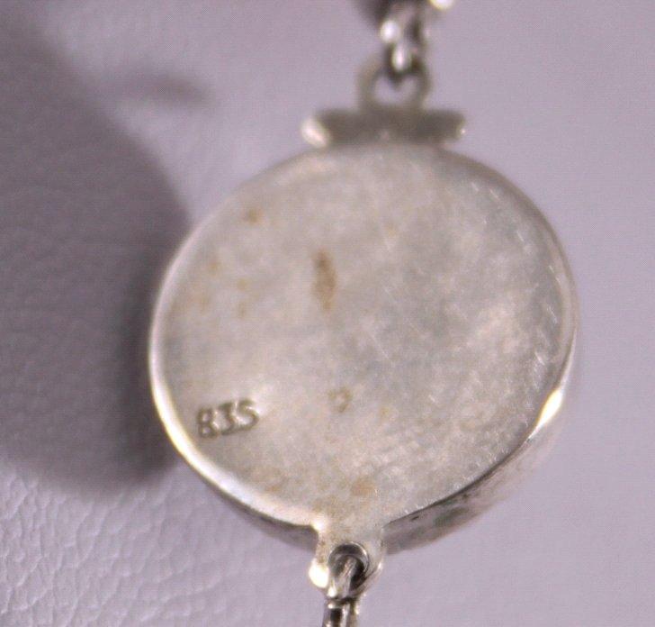 Perlenkette mit 835er Silberschließe-3