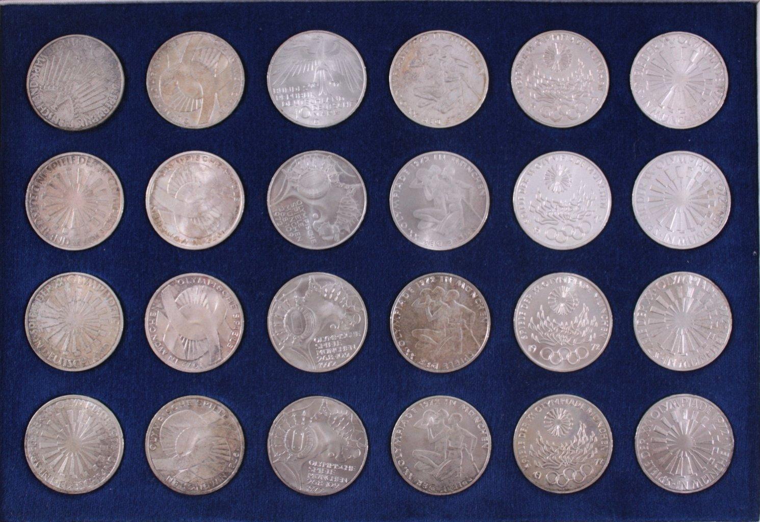 24 x 10 DM Olympia 1972-1