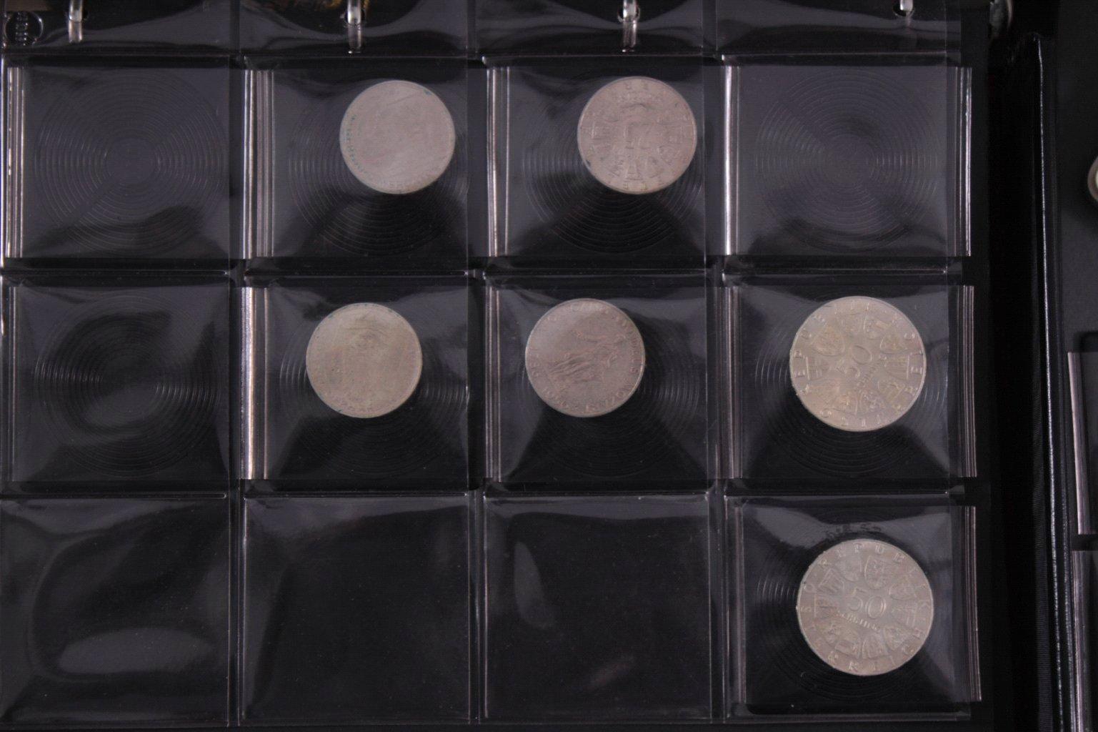 Partie Münzen und Medaillen
