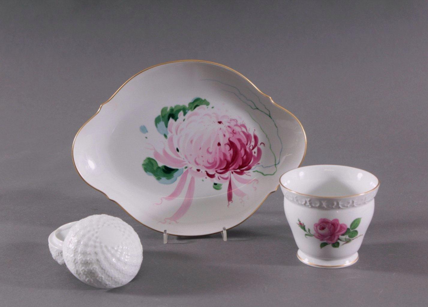 Meissen Porzellan, 3 Teile, 20. Jahrhundert-1