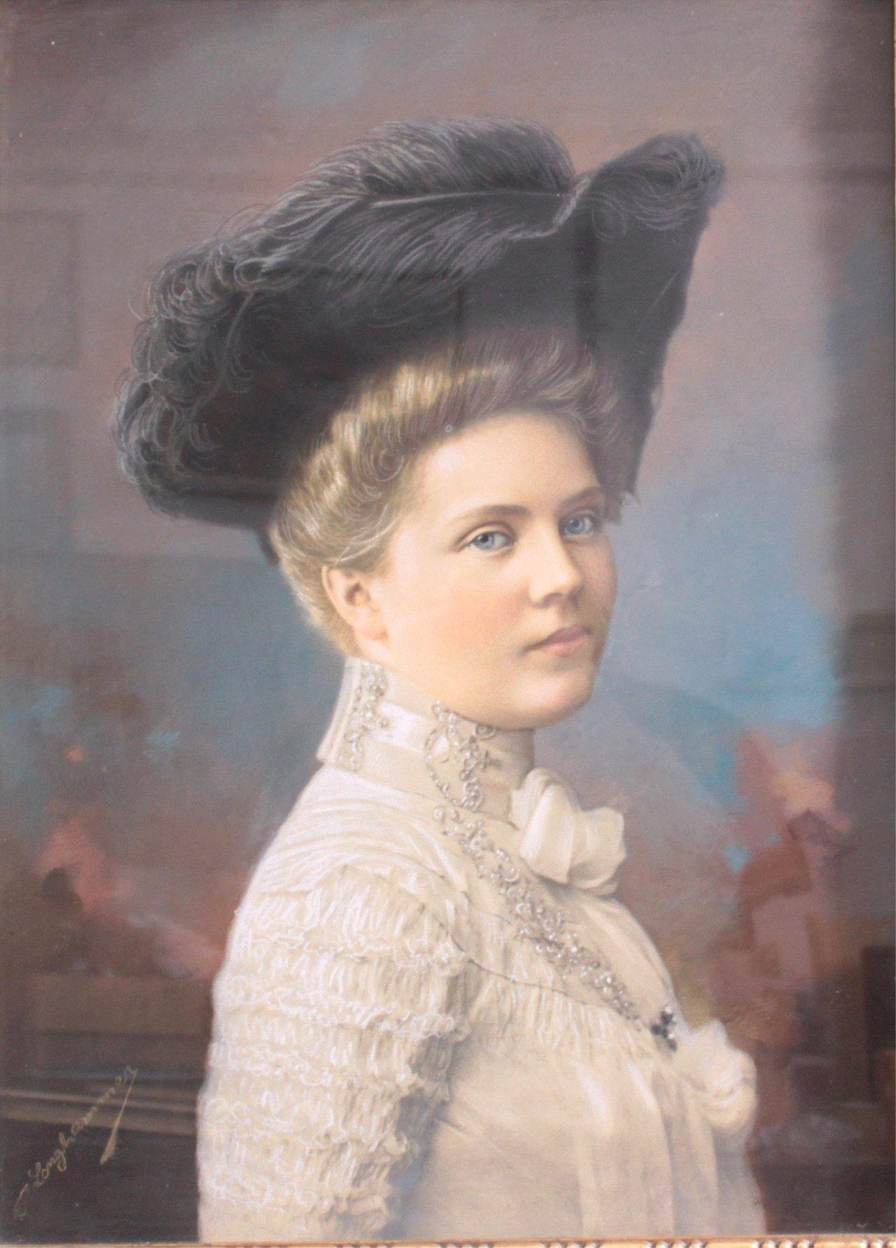 Damenbildnis des 19. Jahrhundert-1