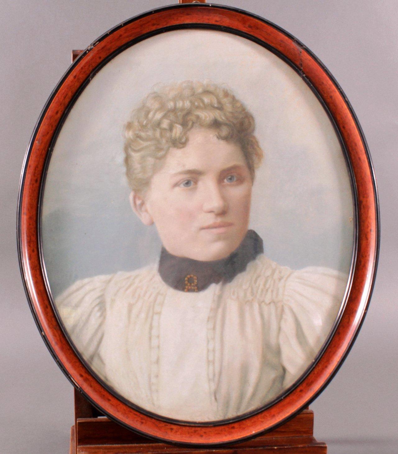 Damenportrait um 1900
