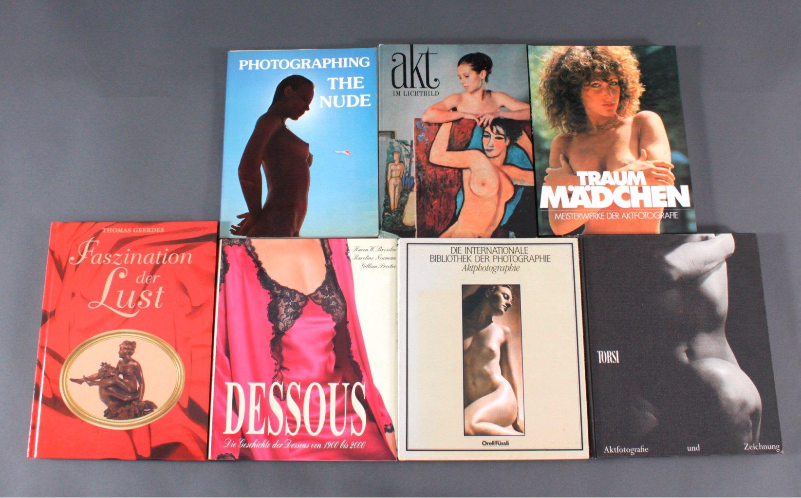 7 Bücher zum Thema Erotik