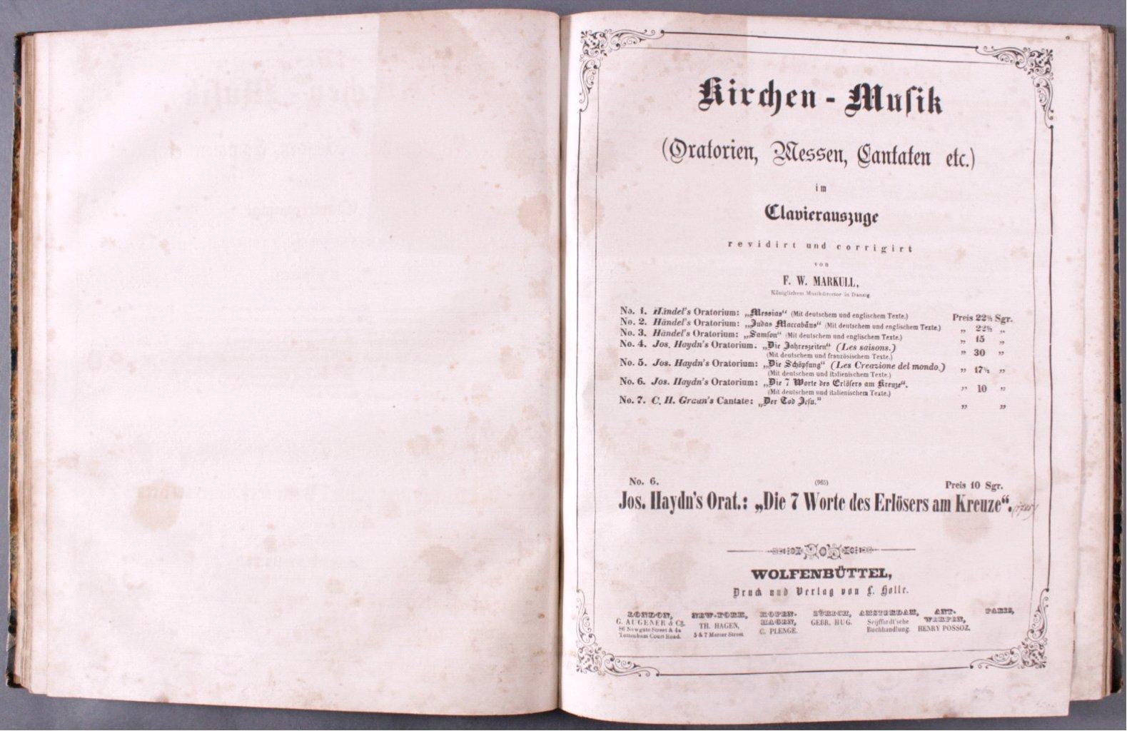 F.W. Markull. Kirchen-Musik-1