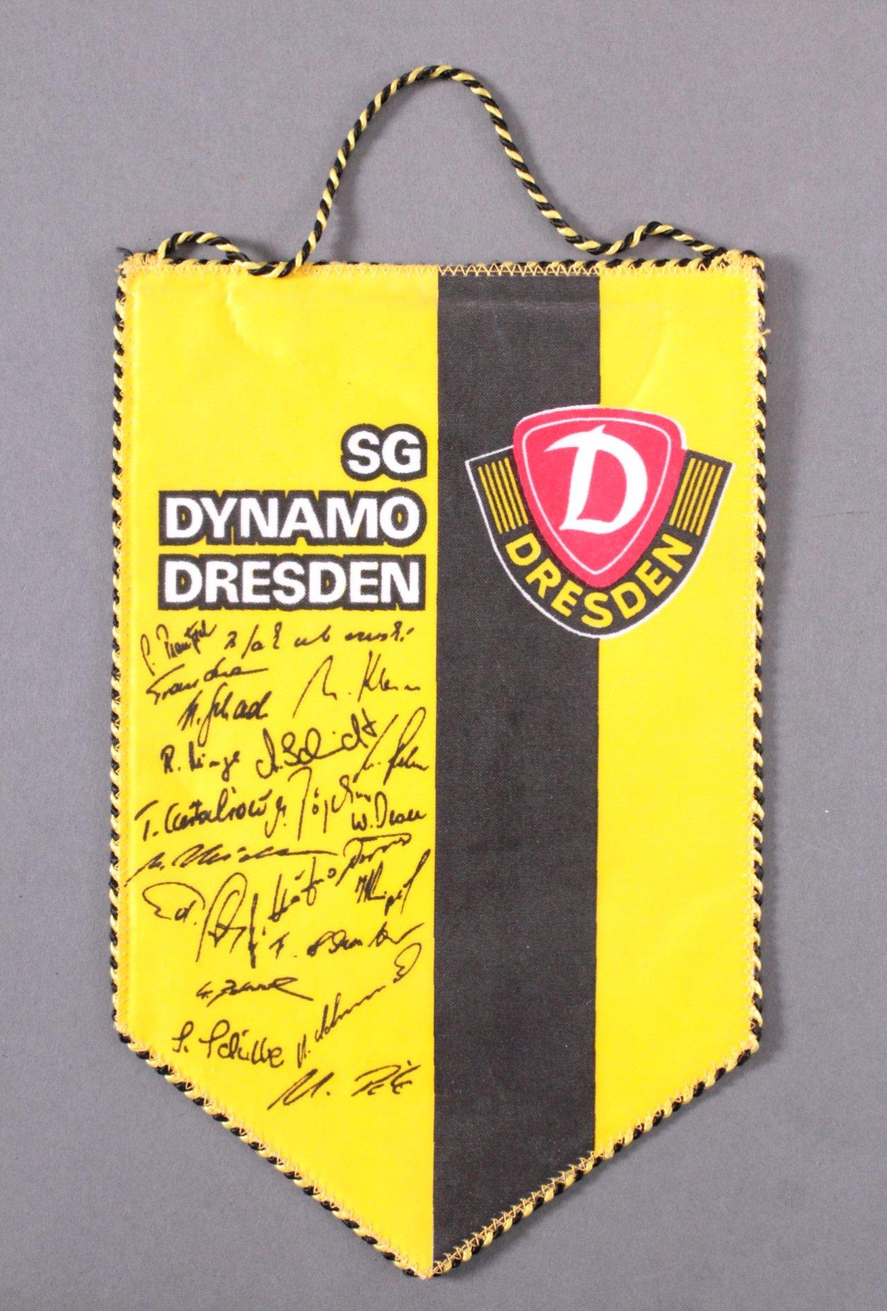 Wimpel SG Dynamo Dresden