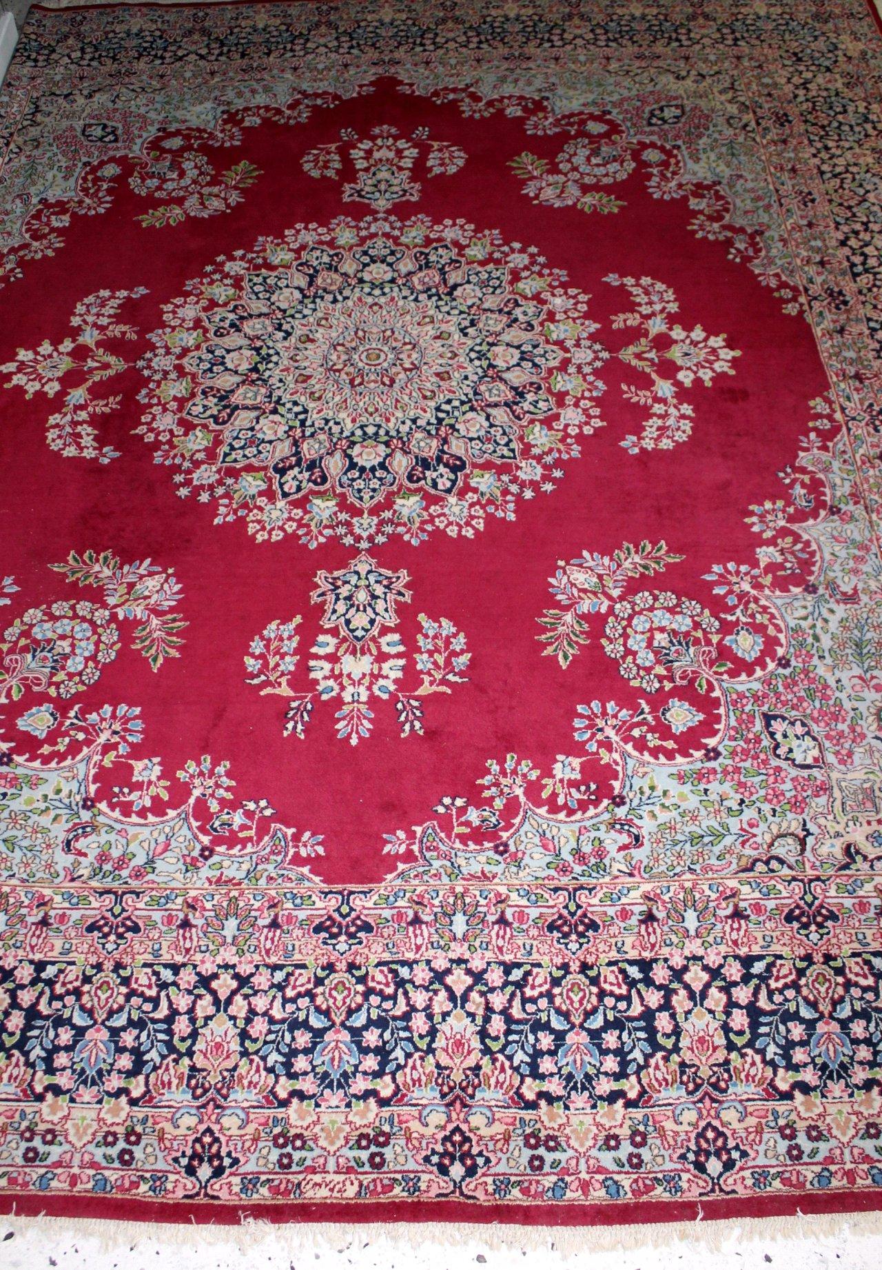 Orientalicher Kirman Teppich