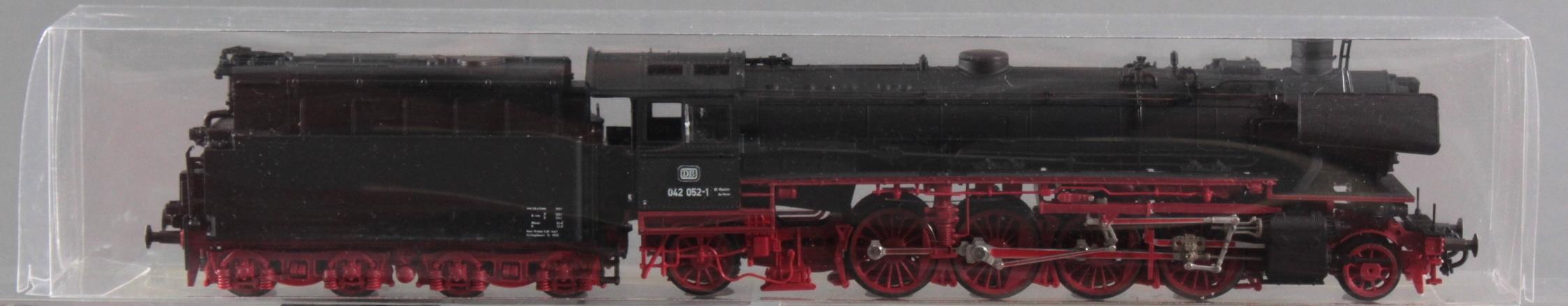 Roco H0 Dampf-Lok 042 052-1 mit 6 Fleischmann Waggons-2