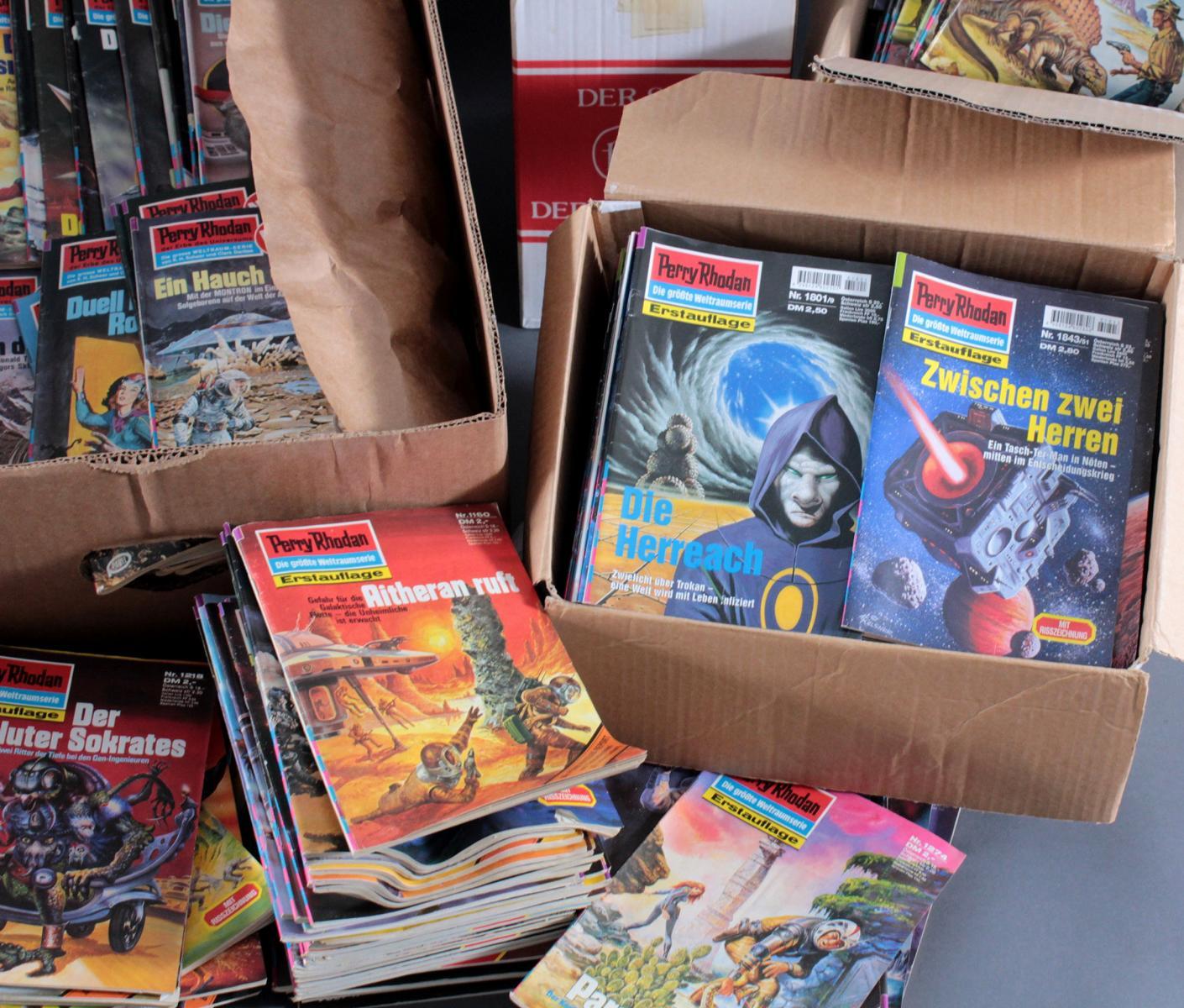 Sammlung Perry Rodan Hefte, dabei auch Erstauflage-3